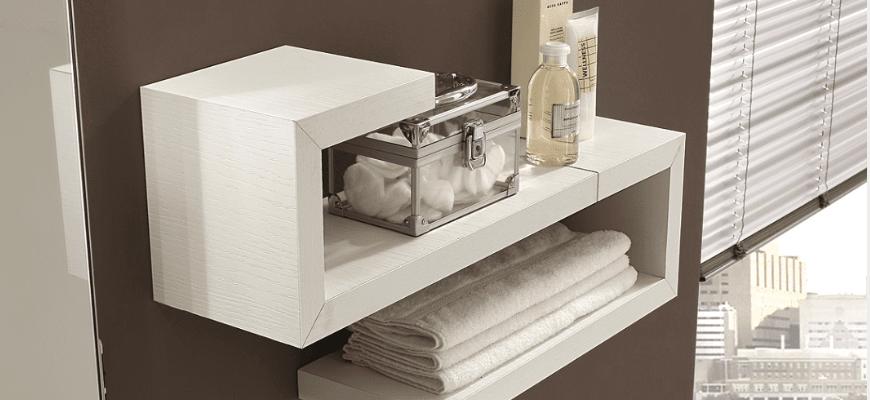 Mensole singole o in combinazioni d 39 effetto cose di casa - Tipi di bagno ...
