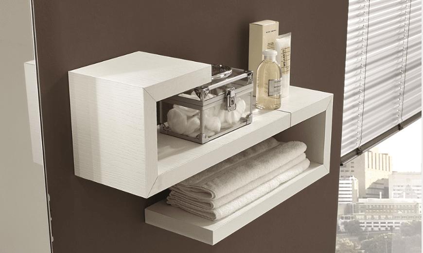 Mensole singole o in combinazioni d 39 effetto cose di casa - Armadietti bagno leroy merlin ...