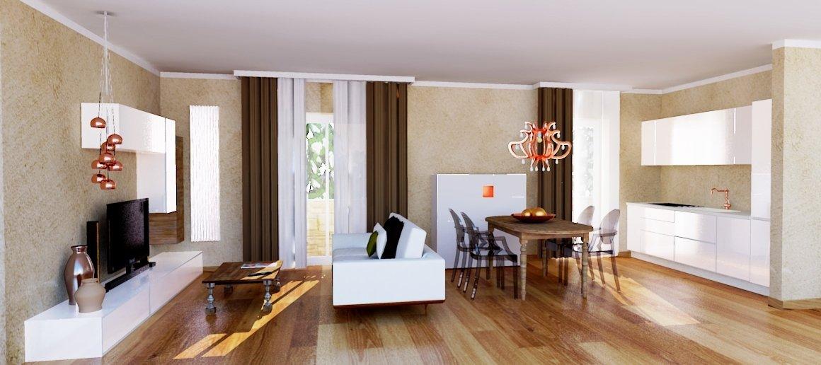 Colore pareti cucina ciliegio l 39 immagine della bellezza - Levigare il parquet senza togliere i mobili ...