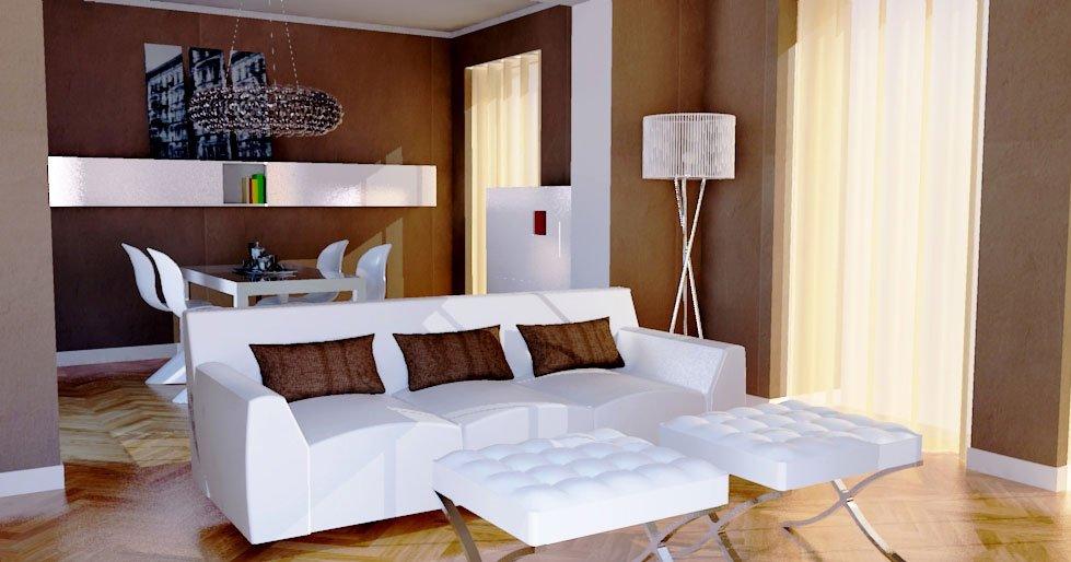 Soffitti Alti Soluzioni : Soluzioni per il soggiorno moderno in ambiente di impianto