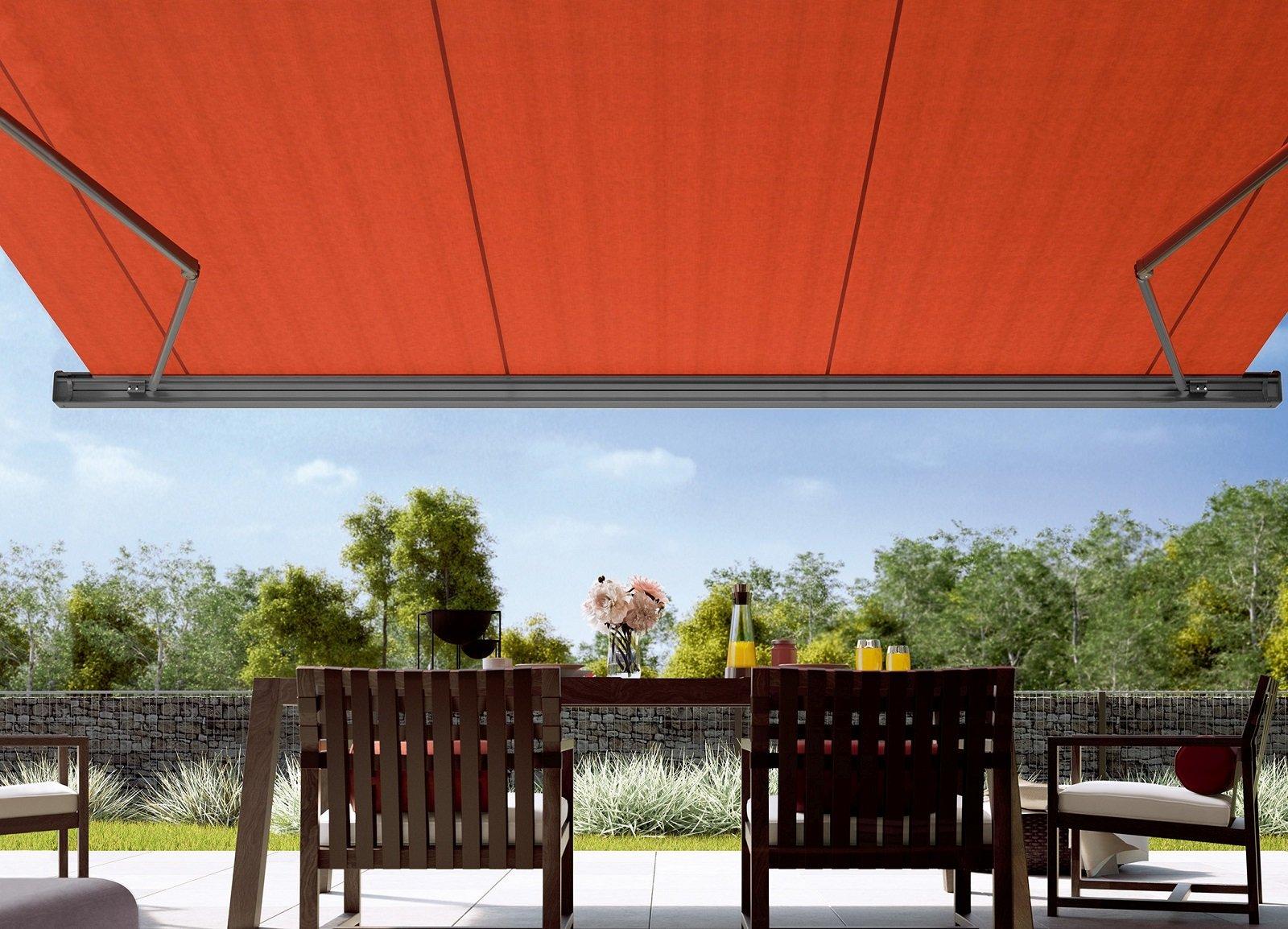 Tende da sole per una casa che si amplia all 39 esterno for Tende per casa