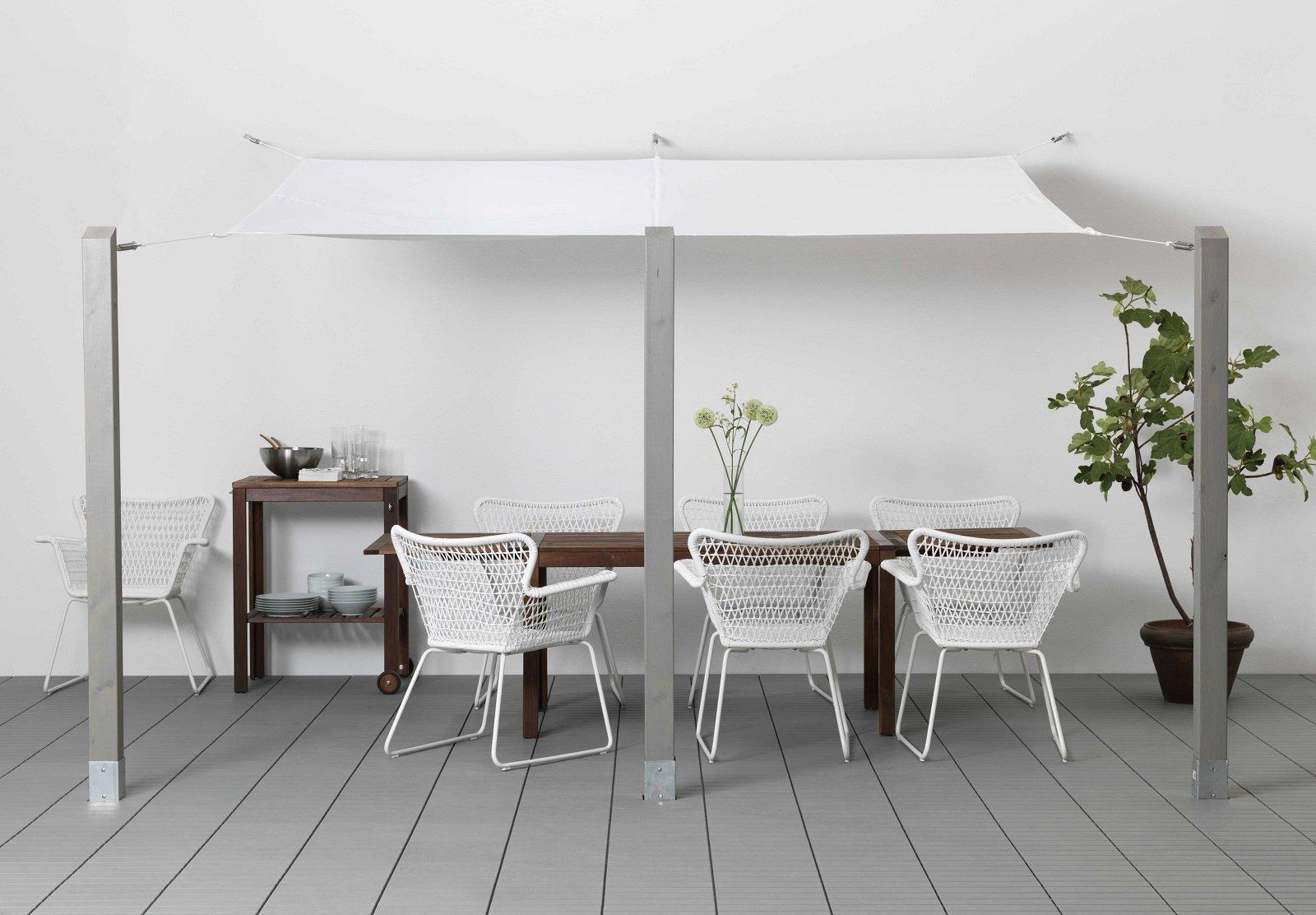 Tende da sole per una casa che si amplia all 39 esterno cose di casa - Tessuti tende ikea ...