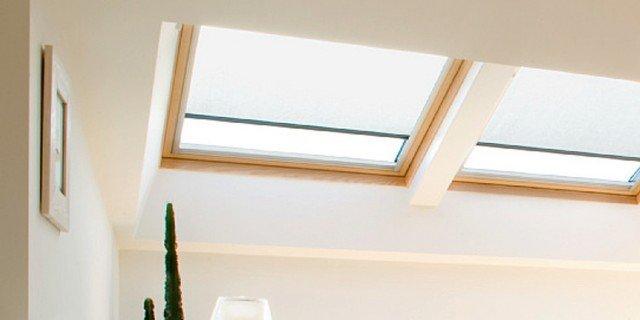 Finestre per tetti con schermature ad alto isolamento