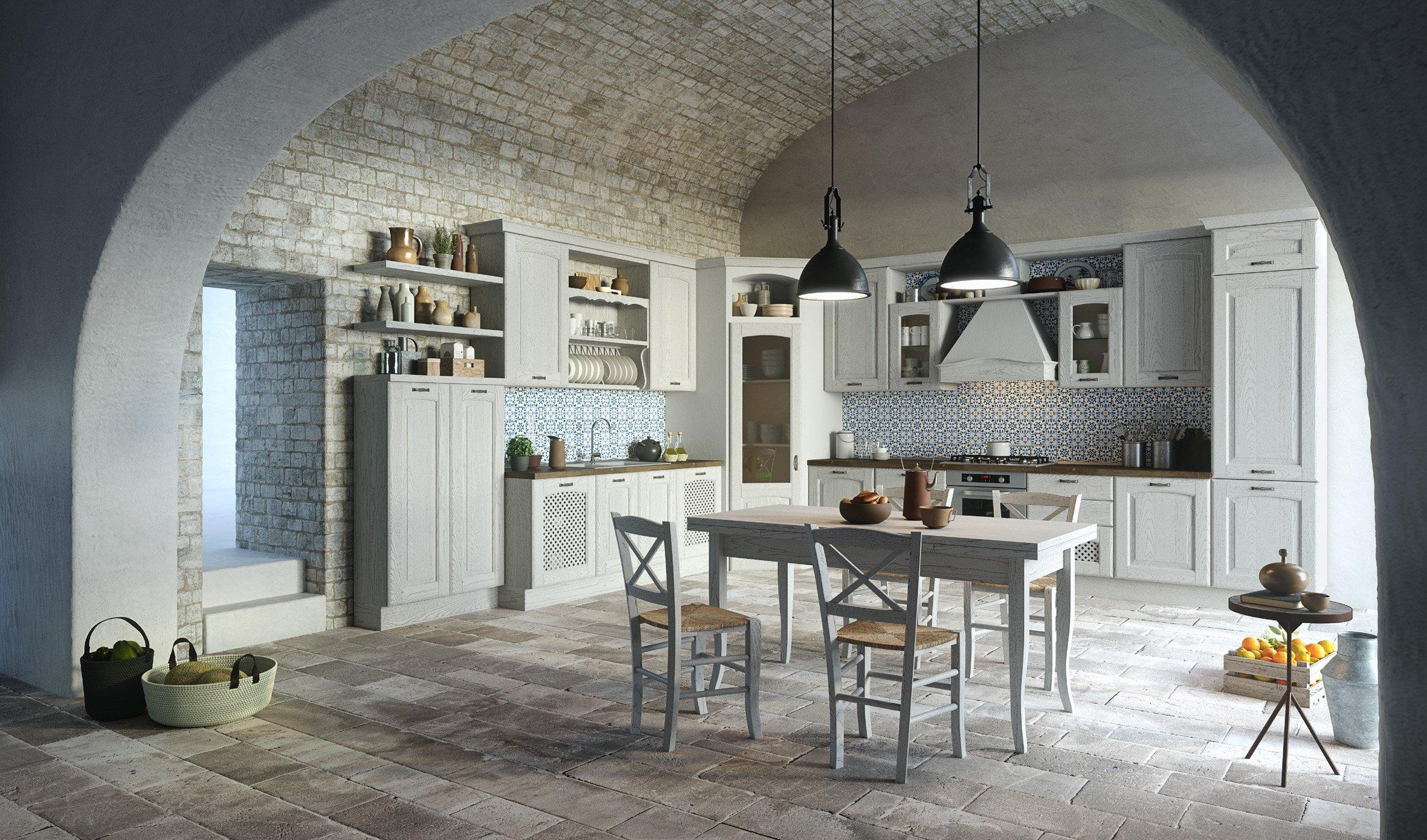 Eurocucina 2016 ecco come la cucina in bianco si rinnova for Aran cucine