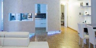 Una casa con spazi meglio organizzati e due bagni in più