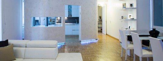 Arredamento casa oltre i 100 mq idee e progetto for Case arredate con gusto