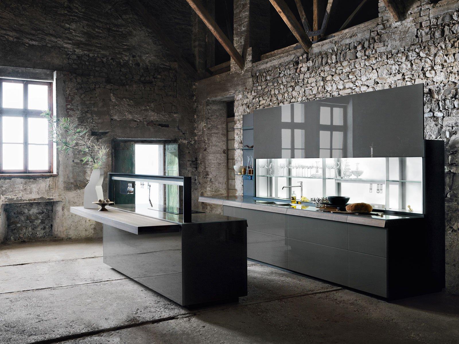 Cucine in grigio di inaspettata freschezza: novità Eurocucina in ...