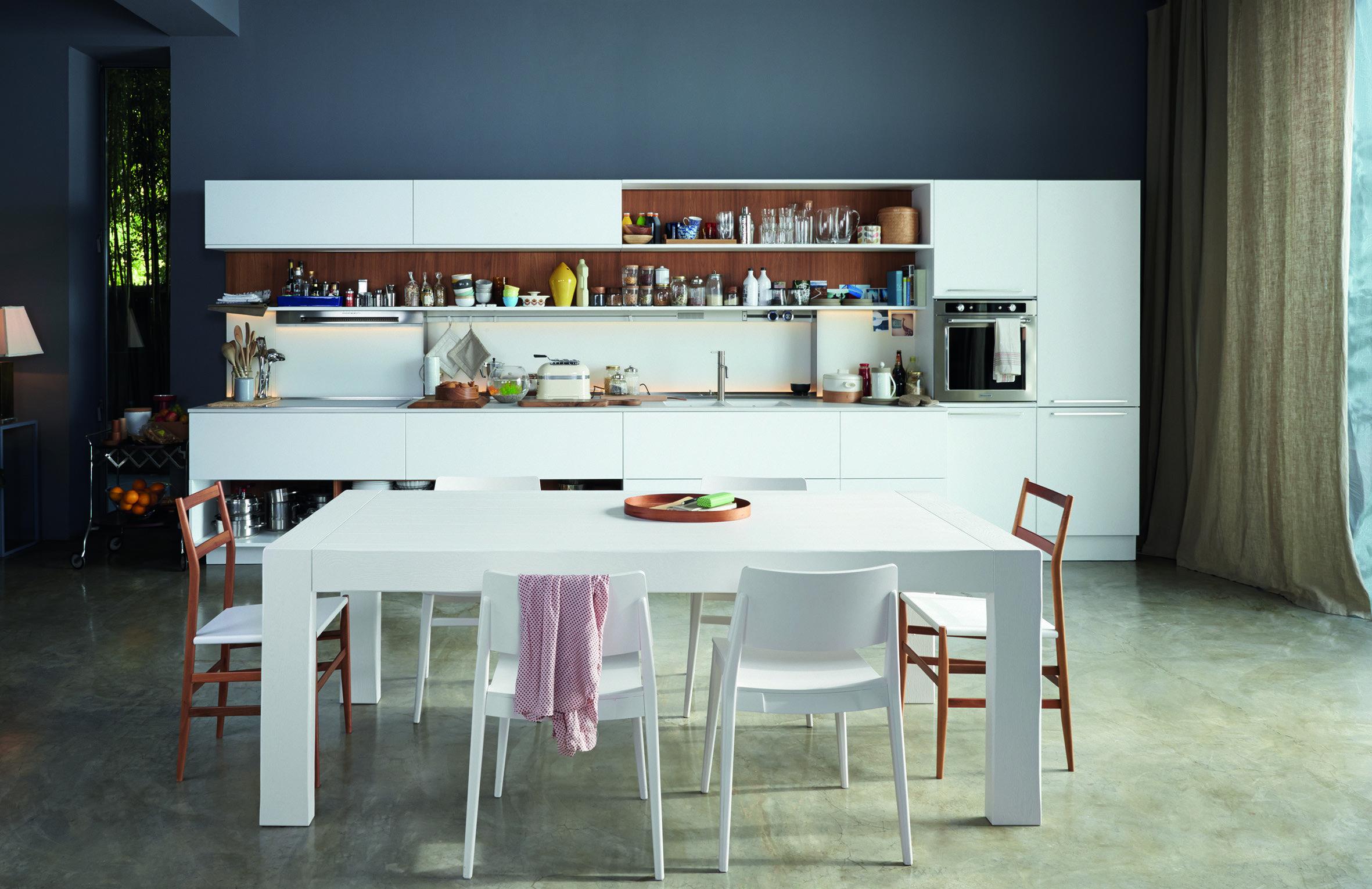 Eurocucina 2016 ecco come la cucina in bianco si rinnova - Cucine la veneta ...