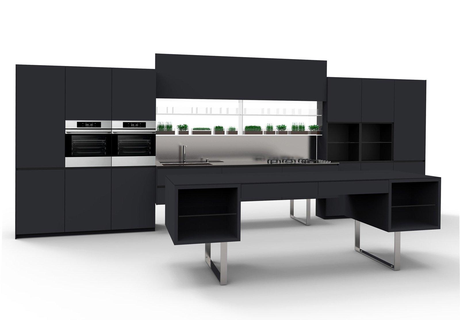 Cucine in grigio di inaspettata freschezza: novità Eurocucina in anteprima - Cose di Casa