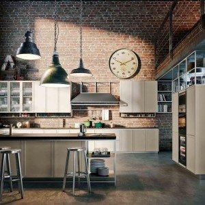 Cucina Frame by Iosa Ghini Design, della collezione Icone di Snaidero.