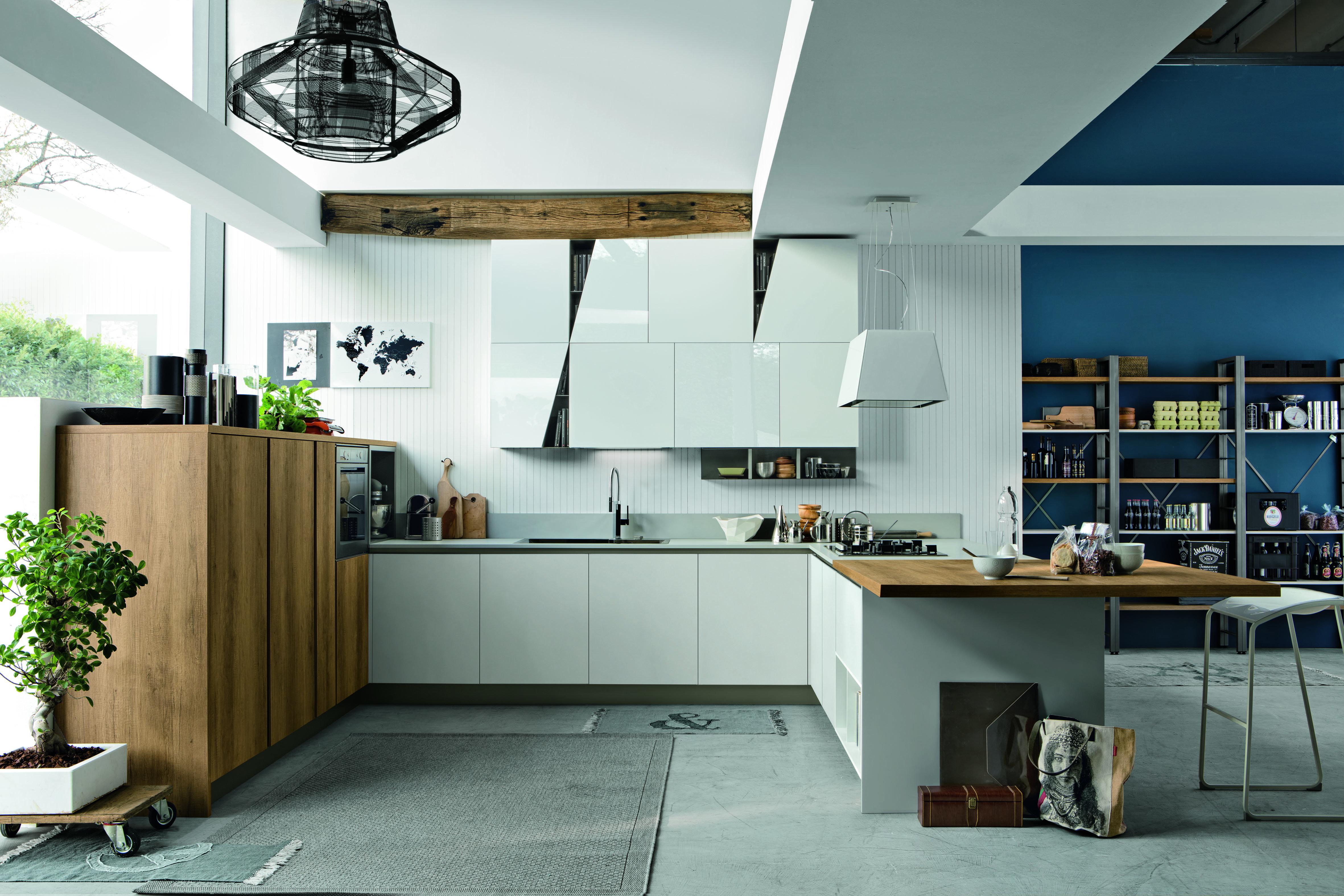 Eurocucina 2016 ecco come la cucina in bianco si rinnova for Cucina stosa infinity