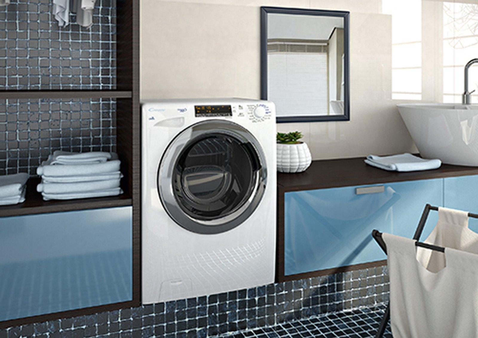 Lavatrici piccole per spazi mini cose di casa - Mobili lavatrici ...