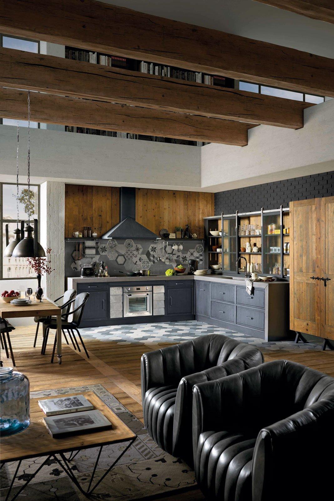 Cucine in grigio di inaspettata freschezza novit - Marchi di cucine ...