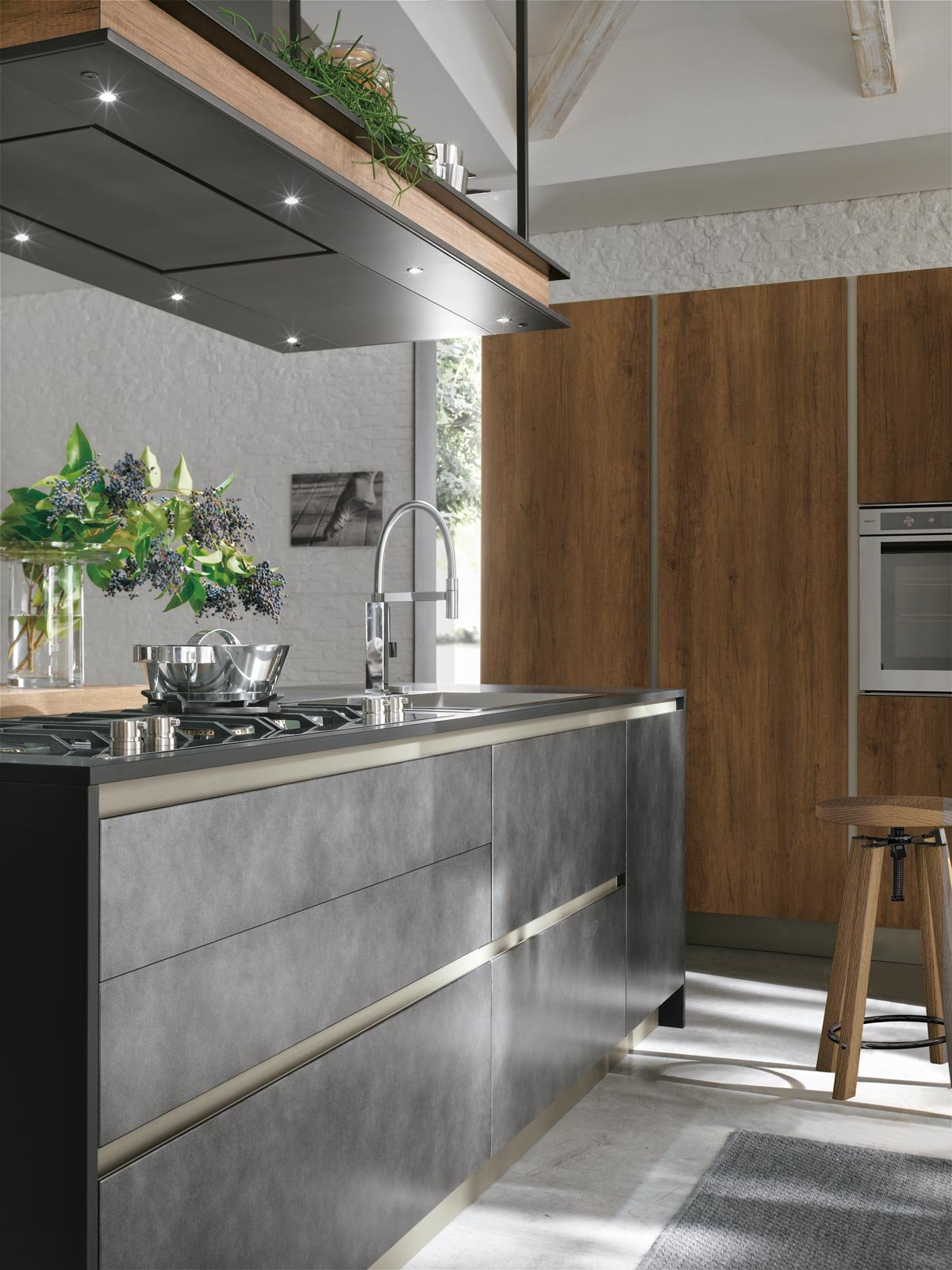 Eurocucina 2016 superfici soft touch per le nuove cucine for Cucina stosa infinity
