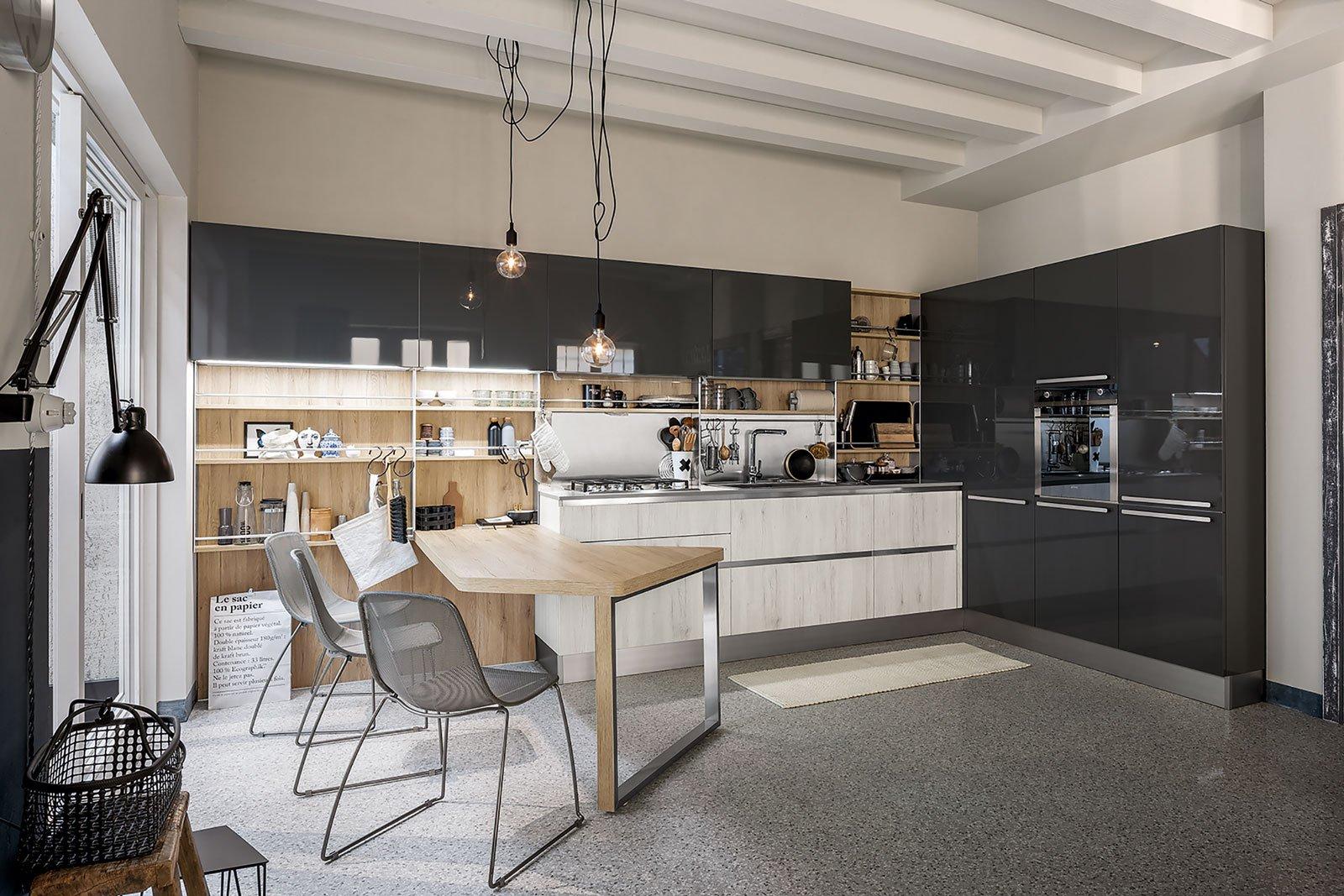 Cucine in grigio di inaspettata freschezza novit for Arredo3 o veneta cucine