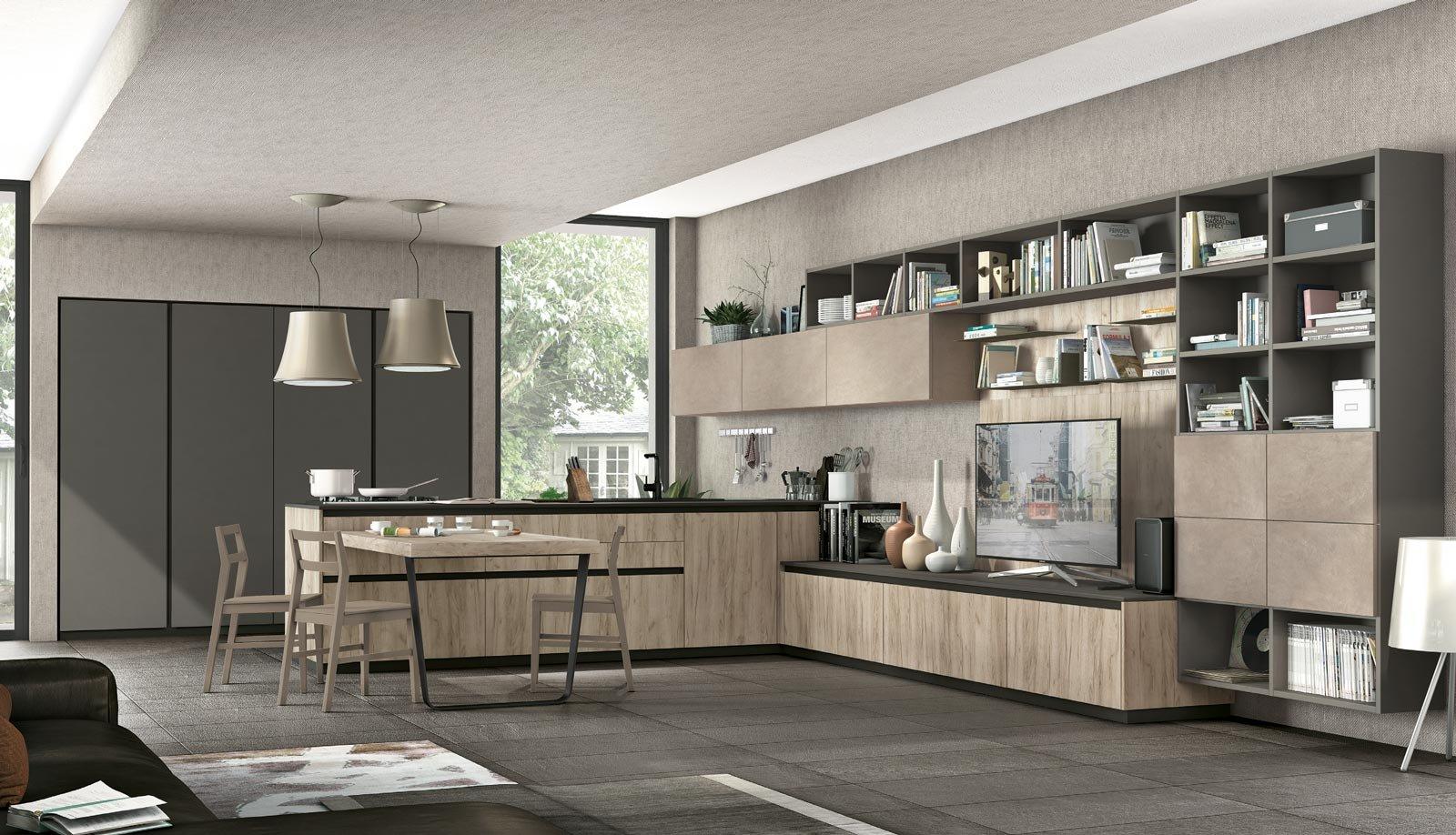 Eurocucina 2016 superfici soft touch per le nuove cucine for Amoblamientos de oficina