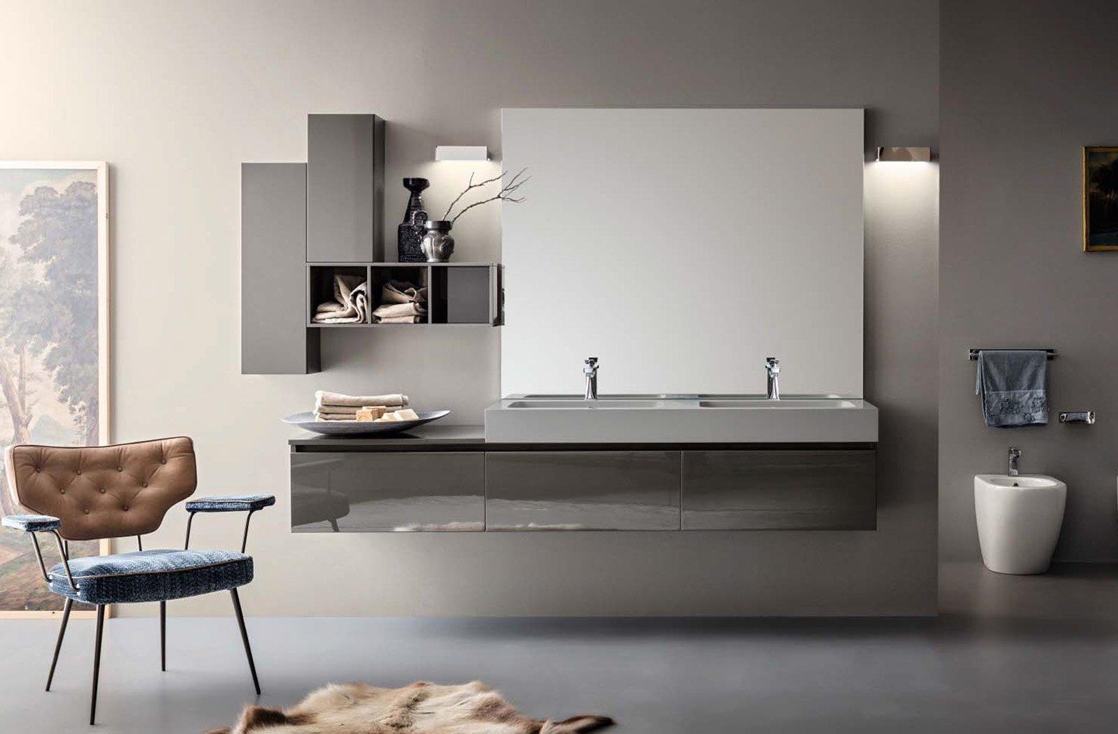 Joy of life by cerasa per arredare il bagno con - Armadietti per il bagno ...