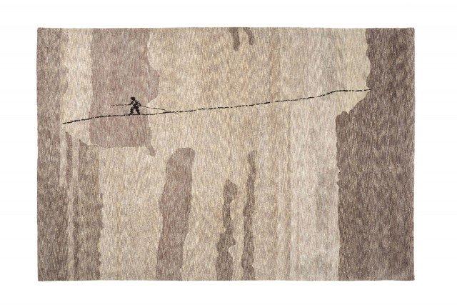 Il tappeto di Francesco Faccin, Sempre sul filo, creato per Nodus.