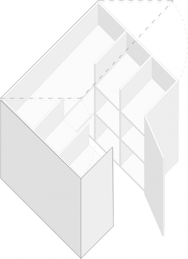 Mobile-letto-armadio-assonometria