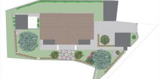Un progetto per gli spazi esterni: giardino, cancellate e ingressi