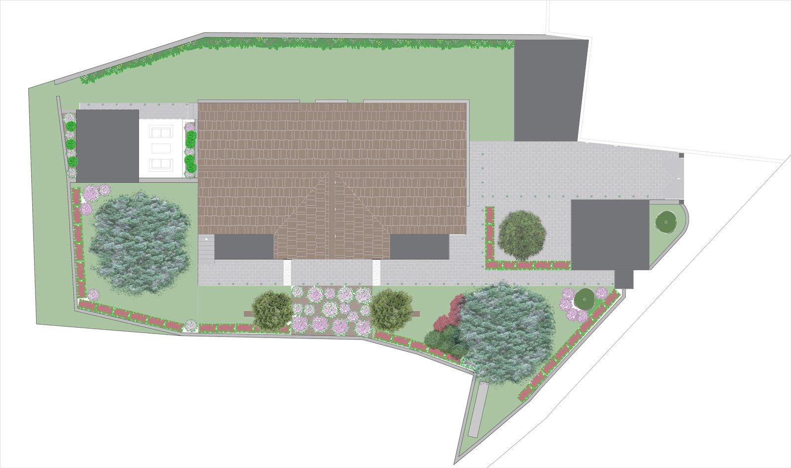 Un progetto per gli spazi esterni giardino cancellate e for Registrare gli stili di casa