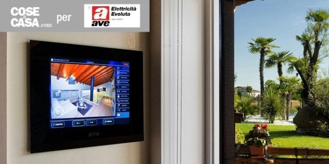 Domotica Ave: il futuro è oggi. La tua casa dietro eleganti Touch Screen