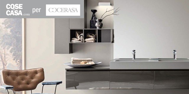 Joy of life by Cerasa: per arredare il bagno con funzionalità e design