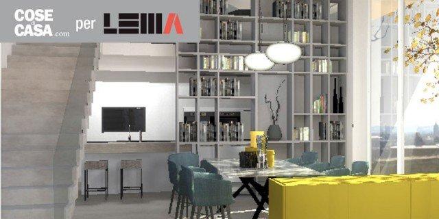 Arredare l'open space: un progetto di interior design