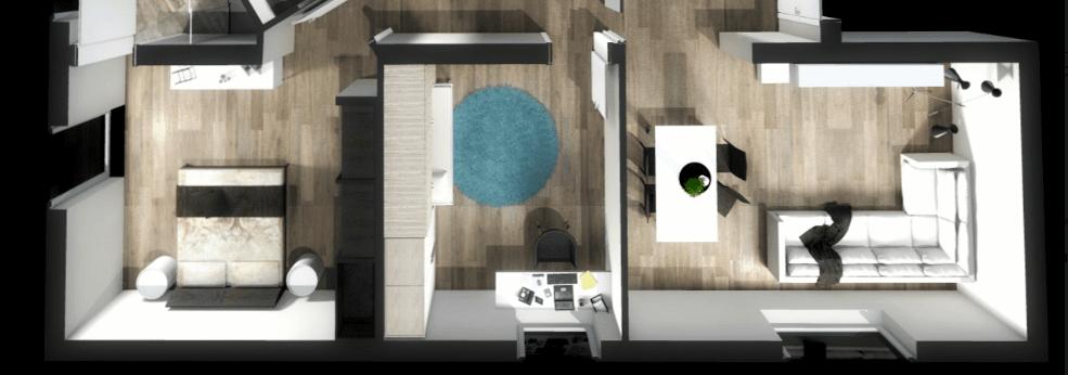 Ricavare una camera in pi progetto in 3d cose di casa for Progetto camera