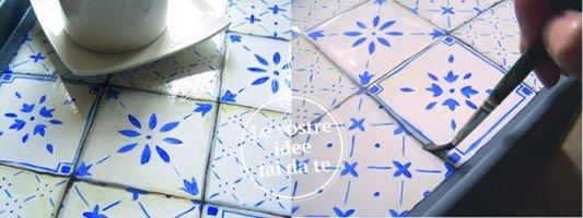 Abbellire decorare e arredare casa fai da te cose di casa - Piastrelle disegnate ...