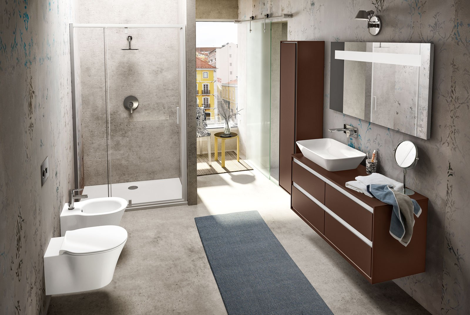 Per il bagno light design per la nuova collezione for Ideal standard connect