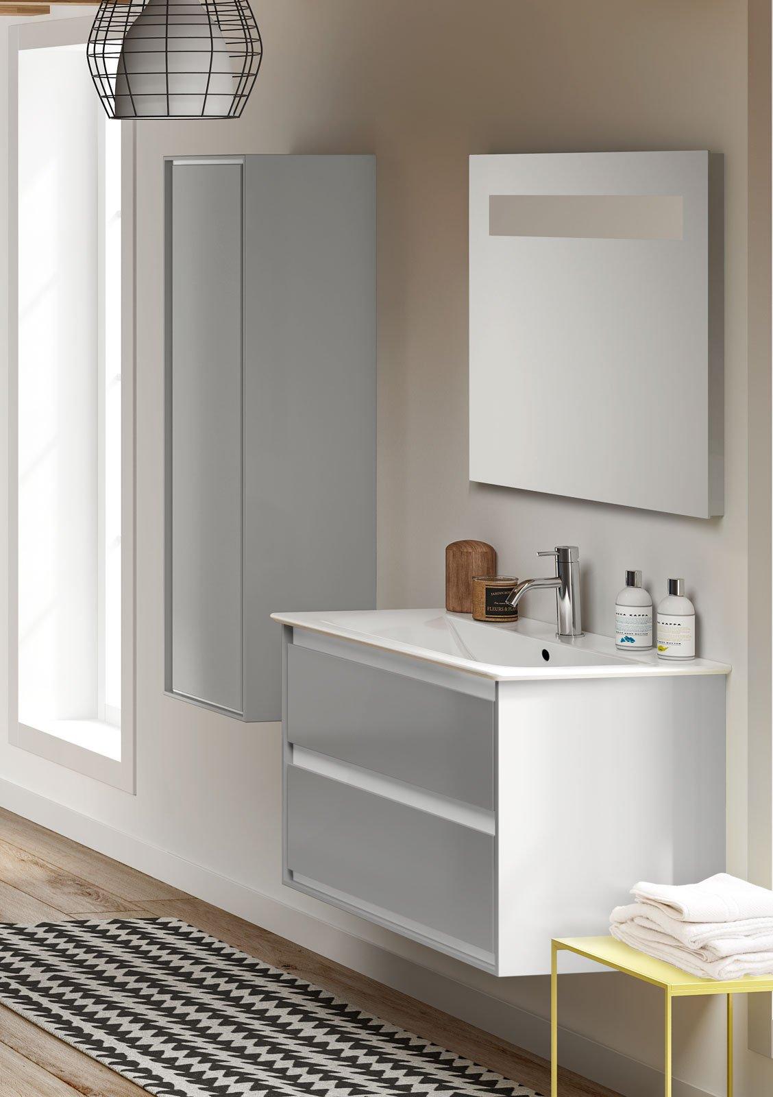 per il bagno light design per la nuova collezione connect air cose di casa. Black Bedroom Furniture Sets. Home Design Ideas