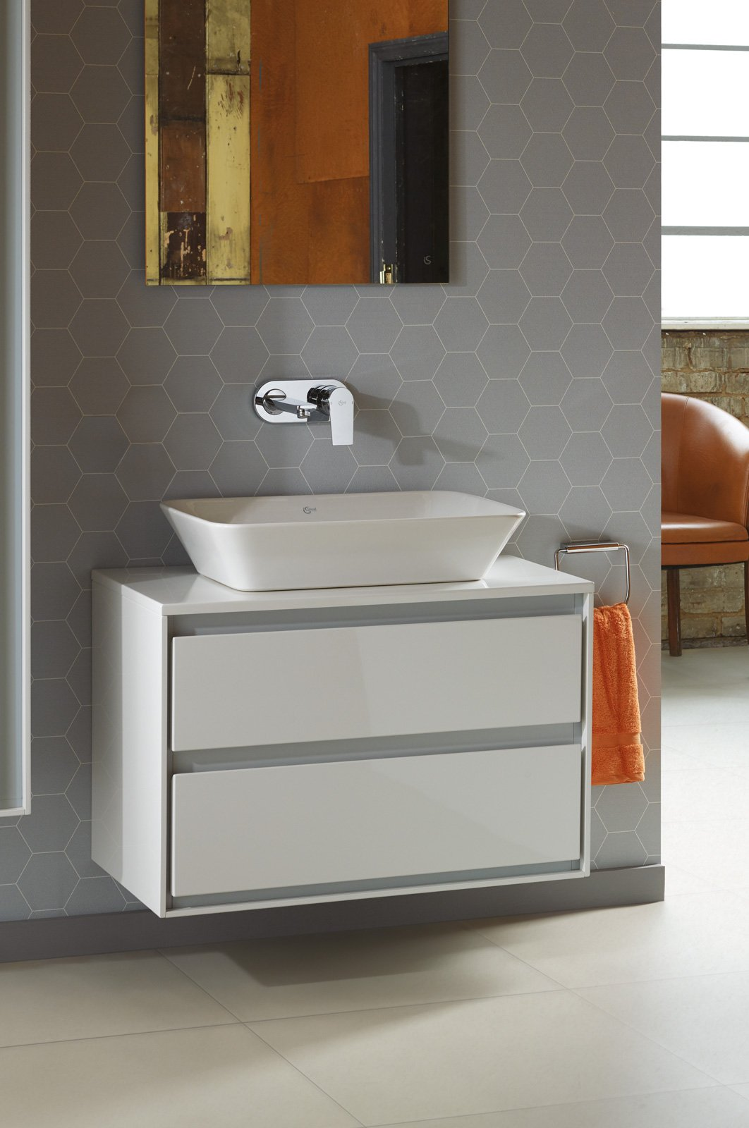 Per il bagno light design per la nuova collezione - Sottolavabo bagno ...