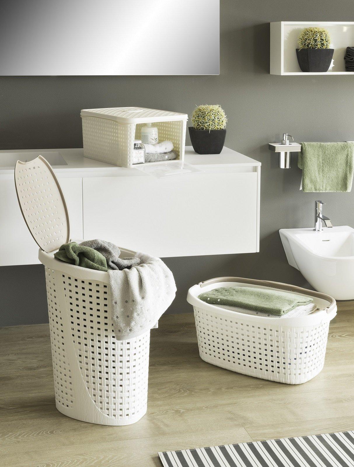 Portabiancheria belli e igienici cose di casa - Portabiancheria design ...