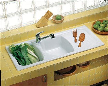 Lavelli per la cucina cose di casa - Sifone lavello cucina ...