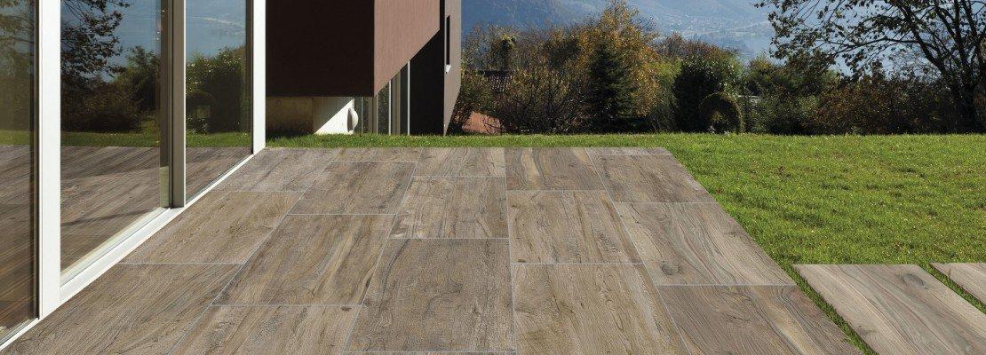 Pavimenti per l esterno effetto legno e pietra cose di casa - Piastrelle per balconi ...