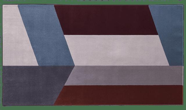 """Split di Besana Moquette è il nuovo tappeto (presentato al Salone del mobile 2016) lavorato a mano che ha la superficie decorata da geometrie asimmetriche, da grandi intarsi colorati. Colori e  misure sono """"su richiesta"""" per soddisfare le esigenze del cliente. www.besanamoquette.com"""