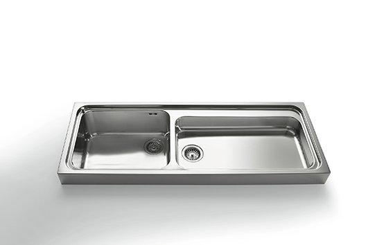 Lavelli per la cucina cose di casa - Top cucina acciaio inox prezzo ...