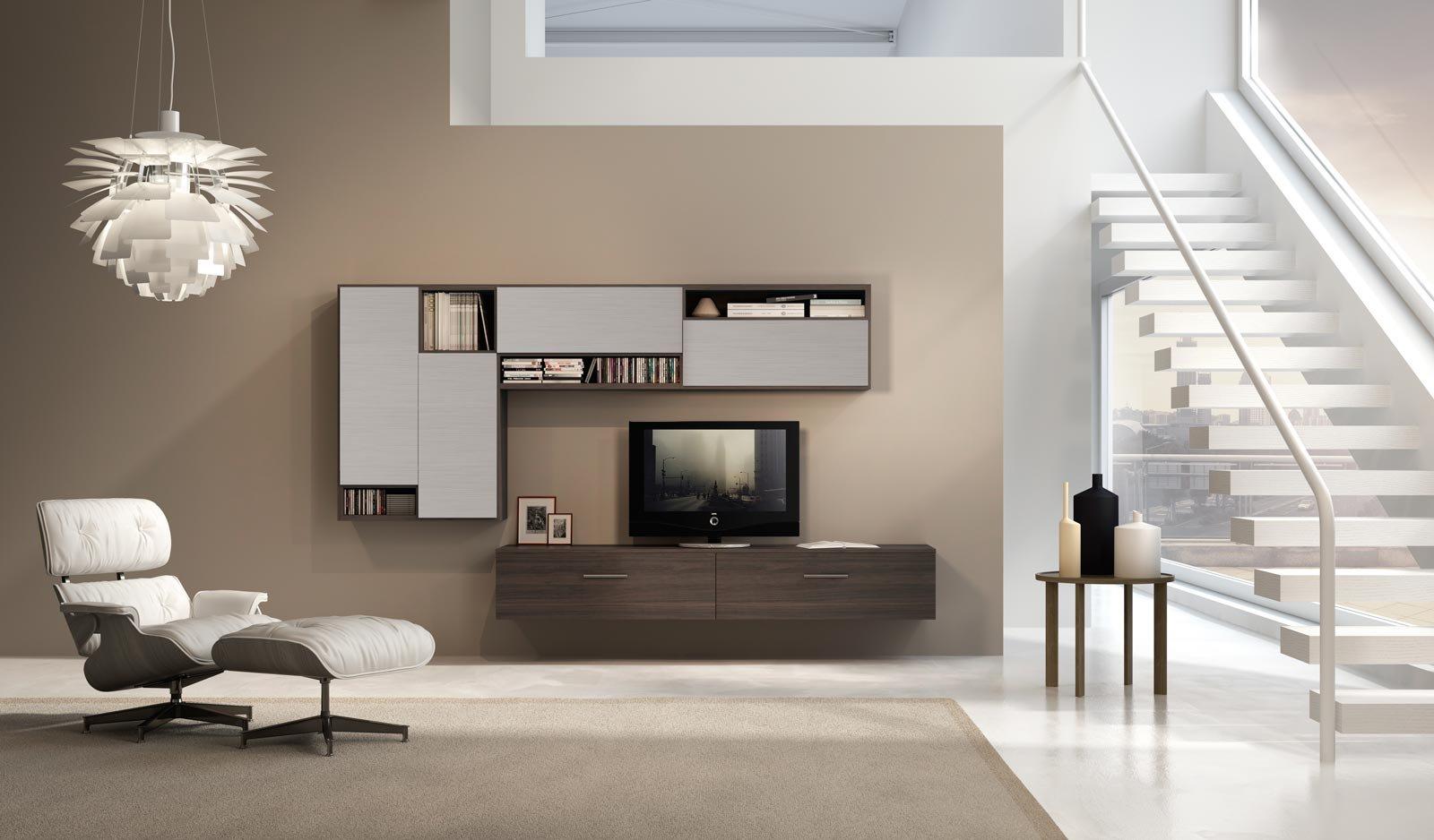 Mobili sospesi per il living o l 39 ingresso cose di casa - Mobili soggiorno sospesi moderni ...