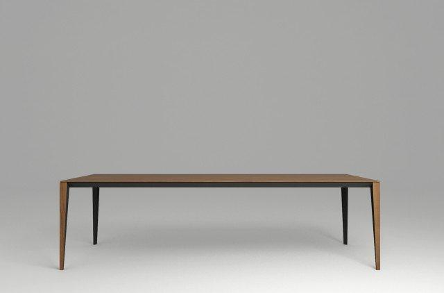 Leggero di Natuzzi è il nuovo tavolo di grandi dimensioni che fa della levità il suo punto di forza in omaggio al grande maestro Giò Ponti. É interamente realizzato in legno ed è disponibile in due varianti: noce e rovere. www.natuzzi.it
