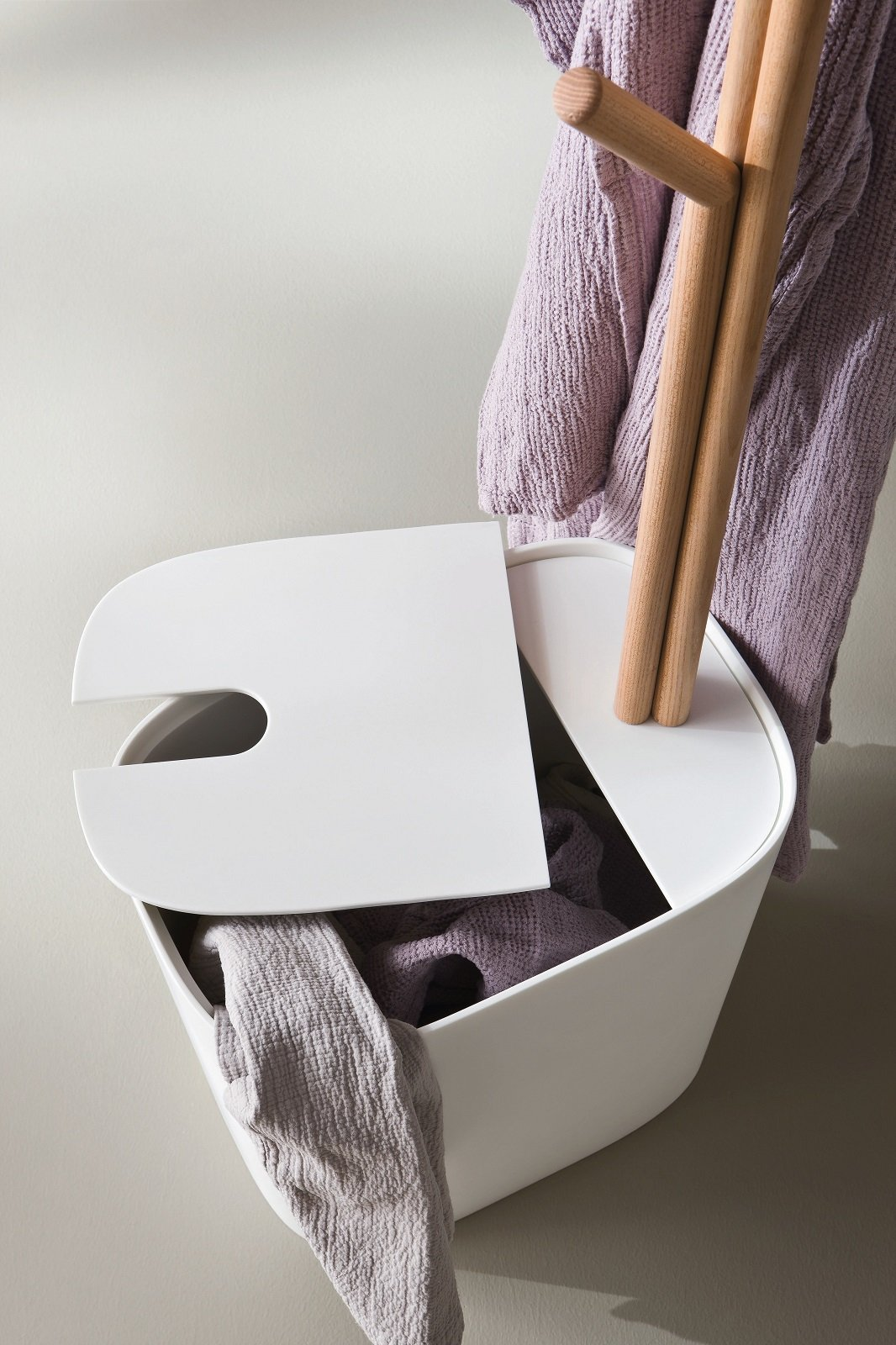 Cesta Bucato Leroy Merlin portabiancheria, belli e igienici - cose di casa