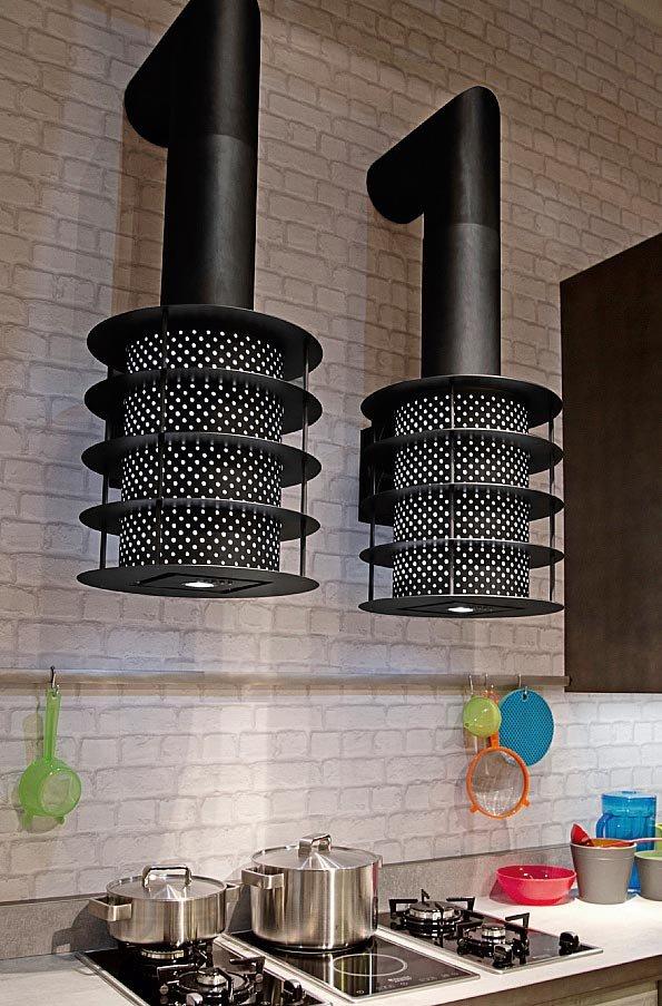 Piano Di Lavoro Cucina In Vetro : Cucine industrial style loft di snaidero cose casa