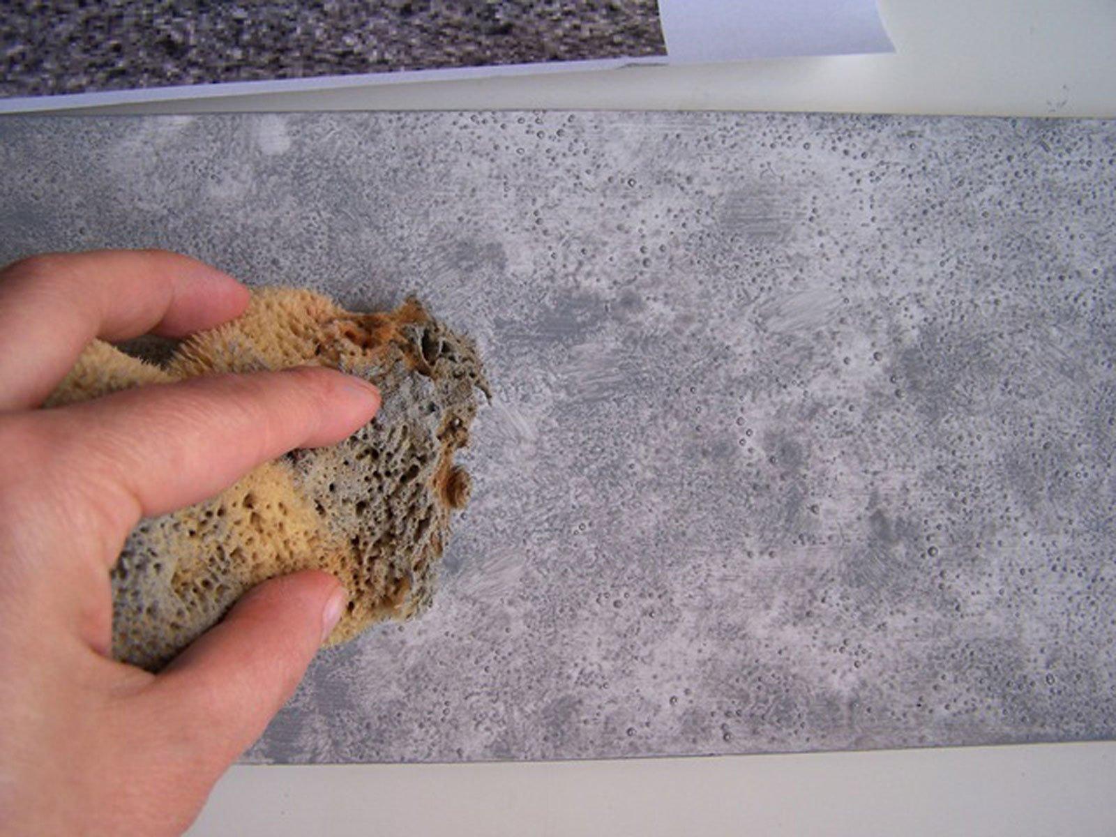 Rivestimento in gesso effetto pietra for Come ottenere progetti di casa tua