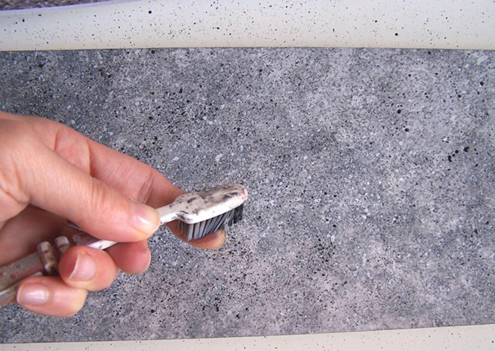 Decorazione come ottenere l 39 effetto marmo o pietra cose for Mattonelle finta pietra