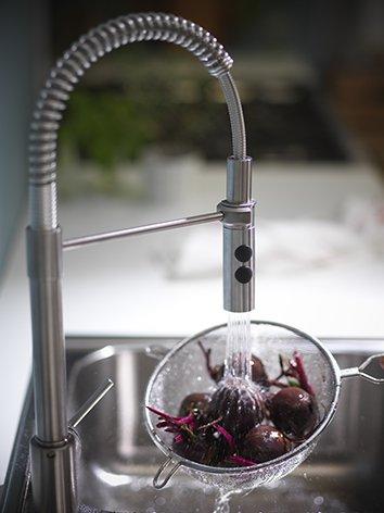 Rubinetti per la cucina cose di casa for Ikea rubinetti cucina