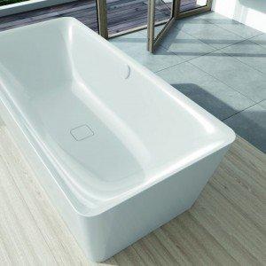 Vasca in acciao smaltato Incava (design Anke Salomon) di Kaldewei (www.kaldewei.it)