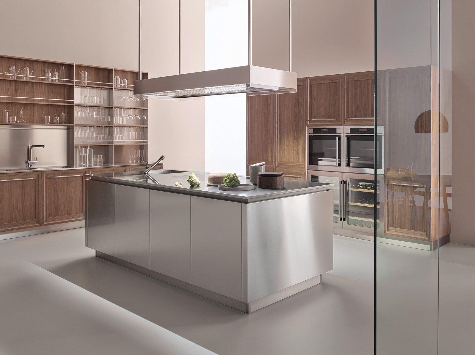 Veneta Cucine A EuroCucina 2016: La Zona Operativa è Sempre Più  #684E44 1600 1199 Veneta Cucine E Soggiorni