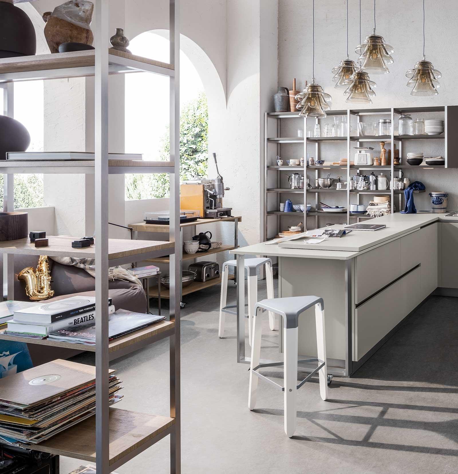 In cucina frigo e freezer sottopiano perfetti sotto la finestra nell isola o nella penisola - Cucina senza frigo ...