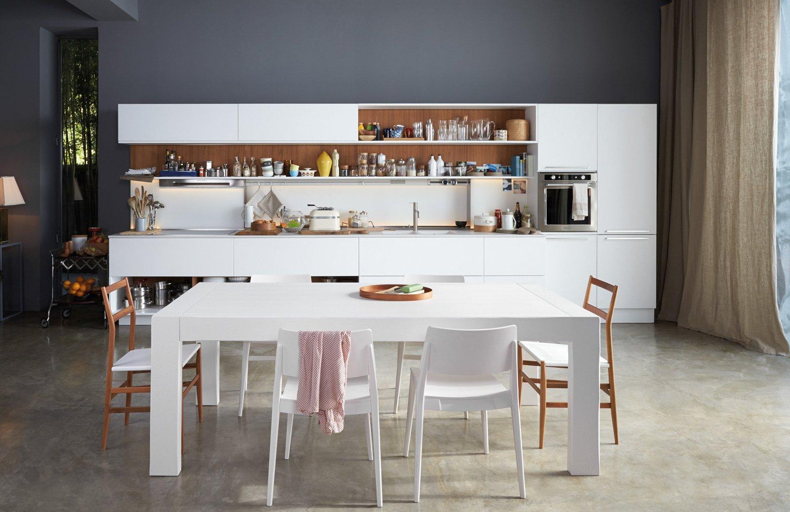 Veneta Cucine A EuroCucina 2016: La Zona Operativa è Sempre Più  #654B3A 1600 1037 Foto Di Cucine Di Casa