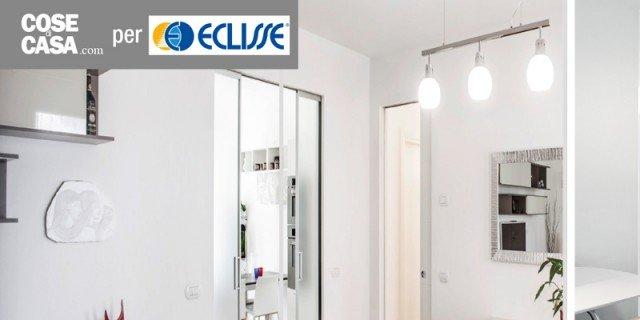 Porte scorrevoli a scomparsa: si può mettere un interruttore sulla parete?